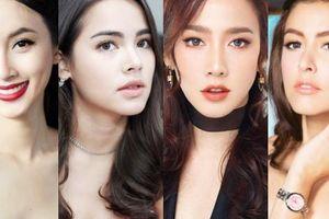 Top mỹ nhân sở hữu khung xương mặt đẹp nhất Thái Lan: Dàn chị đại U40 chiếm ưu thế nhưng đỉnh nhất là số 8