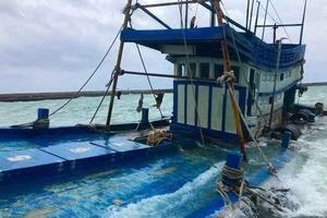 Thông tin mới nhất vụ tàu chở 70.000 lít dầu chìm ở Phú Quý