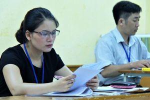 TP.HCM chấm xong môn Văn, 6 bài thi đạt điểm 9
