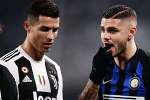 Juventus muốn tạo hàng công với Icardi và Ronaldo