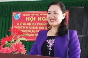 Kỷ luật Chủ tịch Hội Liên hiệp Phụ nữ tỉnh Bến Tre