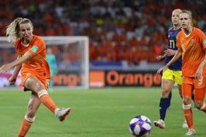 Hạ Thụy Điển, Hà Lan vào chung kết World Cup nữ 2019