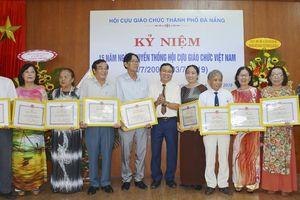 Hội Cựu giáo chức TP Đà Nẵng: Tăng cường công tác hỗ trợ giáo dục, tiếp sức đến trường