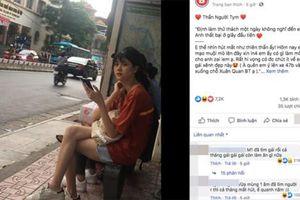 Bị chụp lén lúc chờ xe buýt, nữ sinh này khiến các chàng trai phải 'xao xuyến'