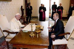 Tổng thống Nga Putin lần thứ 3 gặp Giáo hoàng Francis