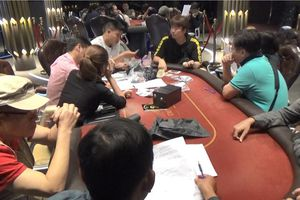 Quy mô sòng Poker tại Q.2 vừa bị Công an TP.HCM triệt phá ra sao?