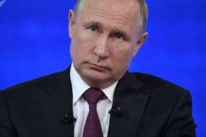 Tổng thống Nga ký phê chuẩn đình chỉ hiệp ước hạt nhân với Mỹ