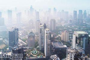 Thủ đô Jakarta của Indonesia 'đau đầu' với ô nhiễm không khí