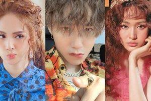 Tư tưởng lớn gặp nhau: Sơn Tùng M-TP, Hương Giang và Hiền Hồ 'đụng hàng chan chát' kiểu tóc xù mì cực hot