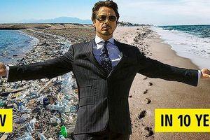 Sứ mệnh 10 năm làm sạch Trái Đất của Iron Man