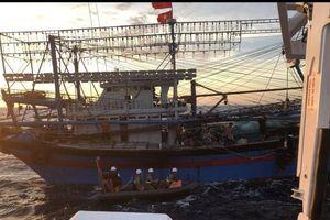 Đề nghị Trung Quốc hỗ trợ tìm thuyền viên mất tích trên vùng biển Hải Phòng