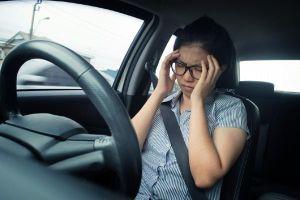 Tại sao đi ô tô riêng cũng chóng mặt?