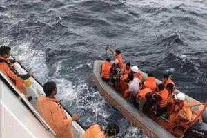 Tiếp tục tìm kiếm cứu nạn tàu cá NA 95899 TS