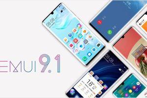 Những dòng smartphone nào được cập nhật EMUI 9.1?