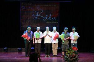 'Thân phận nàng Kiều' lên sân khấu múa rối