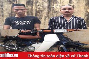 Công an huyện Thạch Thành bắt 2 đối tượng trộm cắp tài sản