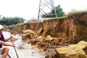 Đà Nẵng: Kè chống sạt lở chậm tiến độ 2 năm, vẫn ngổn ngang trước mùa mưa bão