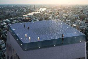 Bể bơi vô cực 360 độ đầu tiên trên thế giới sắp ra mắt