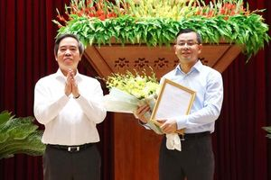 Ông Ngô Văn Tuấn giữ chức Phó Bí thư Tỉnh ủy Hòa Bình