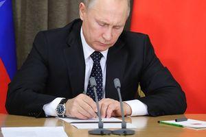 Tổng thống Putin ký luật đình chỉ Hiệp ước INF