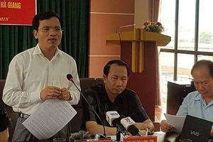 Gian lận thi cử ở Hà Giang: Không chứng minh được 'nâng điểm vì tiền'