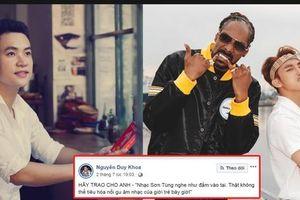 Bị fan của Sơn Tùng M-TP chỉ trích ngược lại, Duy Khoa lên tiếng