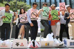 Hàn Quốc kêu gọi tẩy chay hàng hóa Nhật Bản
