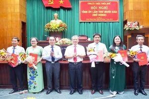 Thừa Thiên - Huế công bố các quyết định của Ban Bí thư về công tác cán bộ