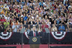 Tổng thống Trump ca ngợi quân đội Mỹ nhân ngày quốc khánh