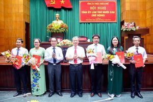 Ban Bí thư chỉ định Bí thư Tỉnh Đoàn TT-Huế tham gia UV BCH Đảng bộ tỉnh