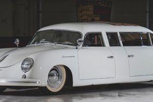 Đấu giá Porsche 356 độ limousine 'độc' nhất hành tinh
