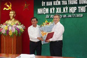 Ông Trần Tiến Hưng giữ chức Phó bí thư Tỉnh ủy Hà Tĩnh