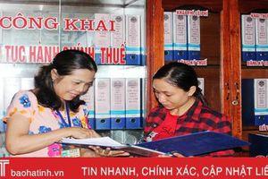 Triển khai đồng bộ các biện pháp, Can Lộc về đích thu ngân sách trước 6 tháng