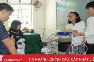 155 sản phẩm tranh tài tại Hội thi Sáng tạo kỹ thuật Hà Tĩnh