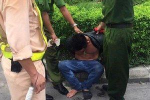 Bắt tài xế quê Quảng Nam nghi ngáo đá gây tai nạn liên hoàn ở Hầm Hải Vân