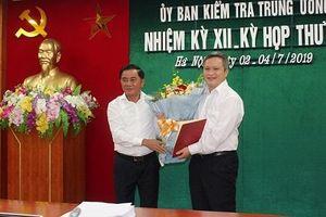 Bổ nhiệm tân Phó bí thư Tỉnh ủy tỉnh Hà Tĩnh