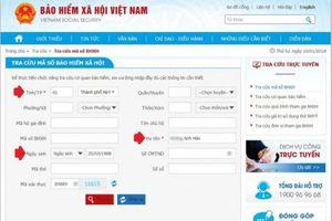 Cách tra cứu thẻ BHYT, sổ BHXH online