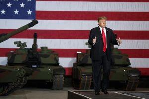 Mỹ đưa xe tăng xuống phố ngày Quốc khánh