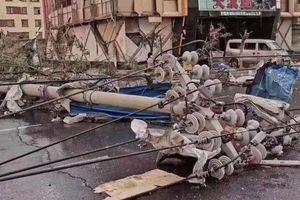 Lốc xoáy càn quét thành phố ở Trung Quốc: 6 người thiệt mạng