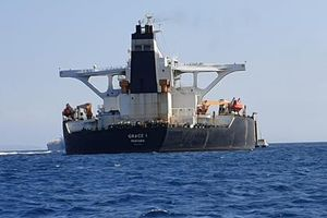 Cử đặc nhiệm vây bắt siêu tàu chở dầu của Iran, Anh được Mỹ khen hay