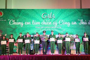 Sôi nổi đêm Gala Chương trình 'Học làm chiến sỹ Công an' khóa II