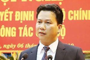 Chủ tịch Hà Tĩnh Đặng Quốc Khánh làm Bí thư Hà Giang