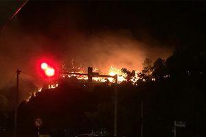 Một tuần xảy ra 45 vụ cháy rừng ở các tỉnh Trung bộ