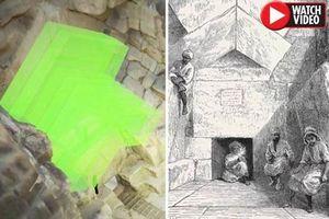 Đã có cách khám phá căn phòng bí mật trong đại kim tự tháp Giza?