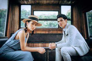 Siêu mẫu Tuân Lucas - Vũ Quỳnh sánh vai trong bộ ảnh tái hiện cặp tình nhân lãng mạn l'amant