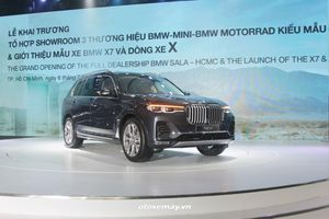 Thaco trình làng duy nhất một phiên bản BMW X7 2019 giá 7,499 tỷ đồng
