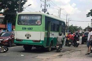 Cô gái trẻ đi SH tử vong thương tâm sau cú đâm xe buýt