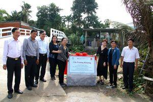Cần Thơ khánh thành cầu giao thông nông thôn do tổ chức AEA tài trợ