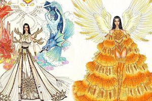 Thiết kế 'Bàn thờ' bị phản đối dữ dội vẫn lọt top 5 trang phục dân tộc