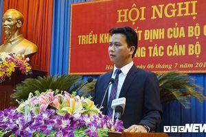 Ông Đặng Quốc Khánh được bổ nhiệm giữ chức Bí thư Tỉnh ủy Hà Giang